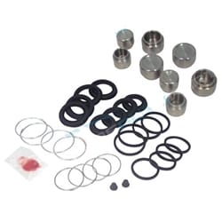 New Front Brake Caliper Rubbers Piston Repair Kit suits Toyota Bundera LJ70 RJ70 Landcruiser | ZPN-02093