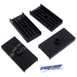 Rear Leaf Spring Saddle Pad Set Ford Falcon 1960-2011 Fairlane LTD Fairmont New Kit of 4 | LS1301K