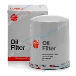Diesel Oil Filter Sakura C1008 Mitsubishi 4D56 4D56T 2.5L Engine Alternate Cross References Z313 | ZPN-00838