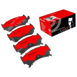Brembo Front Disc Brake Pad Set Nissan 200SX S14 S2 1995 to 1999 RWD | P56026S