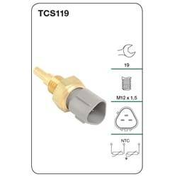 Coolant Temperature Sensor Coolant Temp ECU Sensor Tridon | TCS119