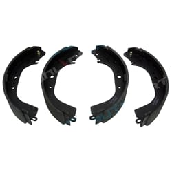 Full Set of 4 Rear Brake Shoes Linings Pads suits Landcruiser HJ75 FJ75 FJ70 FJ73 | N1414