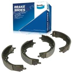 Bendix Rear Brake Shoe Set suits Toyota Hilux GGN15 KUN16 TGN16 2005~14 RWD 2wd