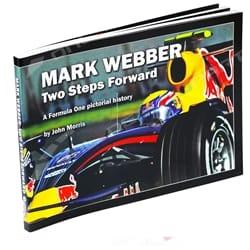 Mark Webber: Two Steps Forward by John Morris Paperback Book F1 Racing Formula 1   WEBB