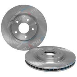 2 Front Disc Brake Rotors Nissan Dualis J10 07-10 4cyl 2.0L Front Pair | ZPN-14997