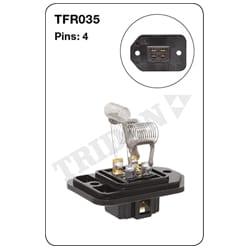 1 x Heater Fan Resistor (Tridon) | TFR035