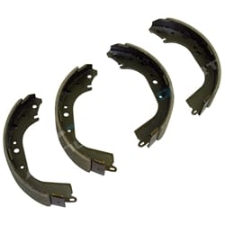 Rear Set of Brake Shoes Lining Tora