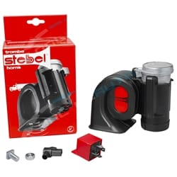 Stebel Nautilus Compact Truck Car Air Horn 12volt 300Hz 134dB Deep Sound 1160058 12 volt Earthquake | ZPN-00961