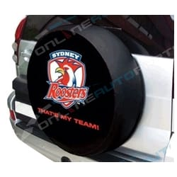 Spare Wheel Cover NRL Sydney City Roosters 4WD suits 72cm to 78cm 4x4 Tyre | ZPN-14412