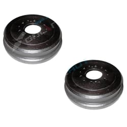 2 Brake Drums suits Toyota Hilux 4wd RN LN RN36 RN46 LN36 LN46 4x4 Ute New Pair 1979 to 1983