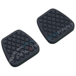 2 x Clutch / Brake Manual Pedal Pad Cover Rubbers Nissan Patrol GU Y61 GR Safari | ZPN-15801
