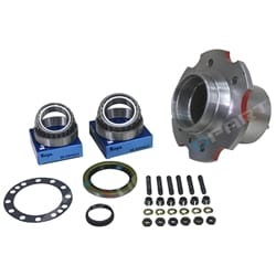 Rear Hub Kit suits Toyota Landcruiser 70 75 Series Wheel Bearings Seals Stud 1990 to 1999