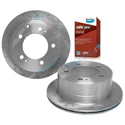 2 Rear Disc Rotors + Bendix Brake Pads suits Landcruiser FZJ78 FZJ79 HDJ78 HDJ79 HZJ78 HZJ79 1999-2009