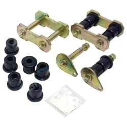 Front Shackle Kit suits Toyota Landcruiser 40 60 70 Series 4x4 Greasable Pins 7/1980 to 1999