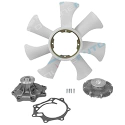 Water Pump, Fan Clutch & Blade Tora | ZPN-33525