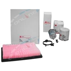 Sakura Oil Air Fuel Filter Service Kit Commodore Calais VT VX VY 3.8L V6 Holden 1997 1998 1999 2000 2001 2002 2003 2004 | ZPN-23763