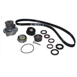 Timing Belt Tensioner + Water Pump Kit Astra AH TS 1998-07 4cyl 1.8L Z18XE X18XE DOHC Holden Engine
