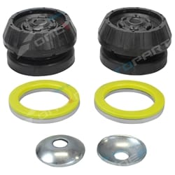 Strut Mount + Bearing Kit VR VS VT VU VX VY VZ VE VF Holden Commodore Top Rubber Pair 1994-2012
