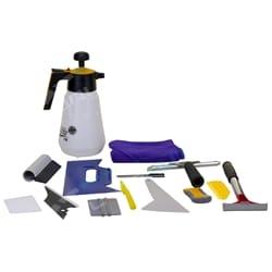 15pc Professional Window Tint Tools Kit Car House Office Film Squeegy Knife Set | TTKLGE