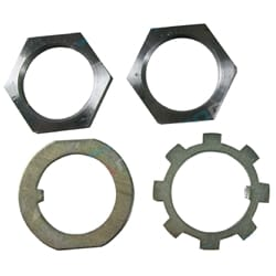 Front Axle Lock Nut + Washer Kit suits Suzuki Sierra LJ SJ Models + Jimny SJ30 SJ40 SJ50 SJ70 SJ80 SJ410 SJ413