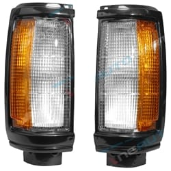 Front Corner Lamps Black Exterior Lighting Aftermarket OEM Replacement | ZPN-34612