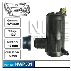 1 x Windcreen Washer Pump (Aftermarket OEM Replacement) | ZPN-33452