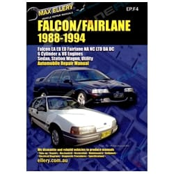Workshop Manual Ford Falcon Fairlane EA EB ED 88-94 NA NC LTD DA DC Repair Book