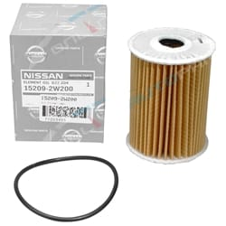 Oil Filter Genuine Nissan Navara D22 2001-06 ZD30 4cyl 3.0L 2953cc Diesel Engine | 15209-2W200