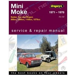 Haynes Workshop Car Repair Manual Leyland Mini Moke 1971 1972 1973 1974 1975 1976 1977 1978 1979 1980 1981 1982 | 04002
