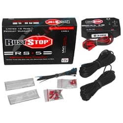 RustStop Electronic Rust Stop Protection System suits Cars, Utes - 12 volt - 4 Electrode | RS5.3-4