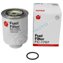 Diesel Fuel Filter suits Toyota Landcruiser HDJ100 1HDFTE 4.2L Engine FC-1707 100 Series Wagon | FC1707