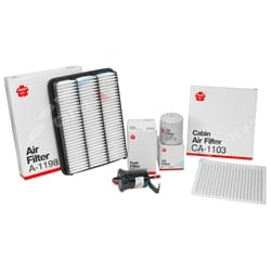Air Oil Fuel + Cabin Filter Kit Prado RZJ120 2.7L 2002~2004 4cyl 3RZ-FE 2.7L Petrol