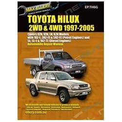 Repair Manual Hilux 1997-2005 2x4 4x4 Diesel LN147 LN167 LN172 3.0L 5L 5L-E Book