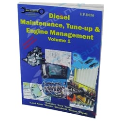 Diesel Maintenance TuneUp & Engine Management Vol1 Max Ellery New Paperback Book