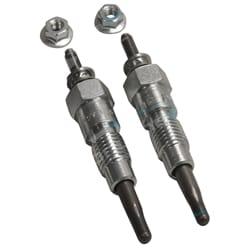 2 Glow Plugs Kubota RC-20 ZB500C-1K RC-25 ZB600 C-1K