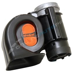 Stebel Nautilus Compact Truck Car Air Horn 12volt 300Hz 134dB Deep Sound 1160058 12 volt Earthquake