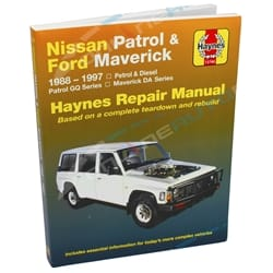 Haynes Car Repair Manual Book for Nissan Patrol GQ GR Y60 Petrol + Diesel Engine incl Safari | 72760
