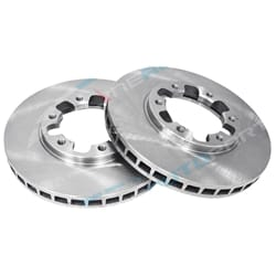 2 Front Disc Brake Rotors for Nissan GU Y61 Patrol - Wagon Ute Safari 4x4 1997 to 2016 | ZPN-02062