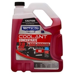 Tectaloy UNLMTD Coolant Concentrate Anti Freeze/Anti Boil Red - 5L | ZPN-23934