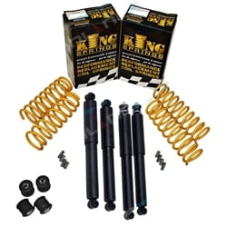 40mm Suspension Spring Lift Kit with Castor Bushes Suzuki Jimny 4x4 1998 to 2016