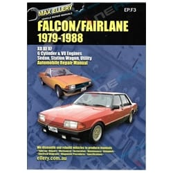 Workshop Manual Falcon XD XE XF Fairlane ZJ ZK ZL LTD Ford Fairmont Repair Book