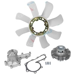 Water Pump, Fan Clutch & Blade Tora | COOLKIT001