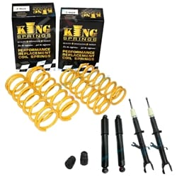 Suspension Lift Kit Ford Territory SX SY 2WD RWD 5/2004 to 8/2007 2WD / RWD Wagon Coils & Shocks | ZPN-15230