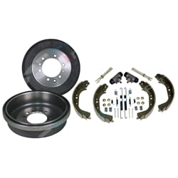 Rear Drums Major Rebuild Kit suits Toyota Landcruiser HZJ75 FZJ75 1990-1999 4X4 | ZPN-14874