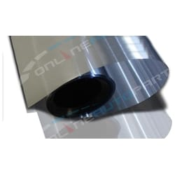5% Silver Mirror Reflective Glass Window Solar Film 152cm x 30m Bulk Roll Tint | WTSS05-152-30