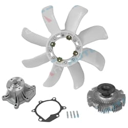 Water Pump, Fan Clutch & Blade Tora | ZPN-33526