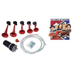 Dukes of Hazard Dixie Land Musical Car Air Horn Kit 12 volt General Lee Stebel | MP5-12-DX