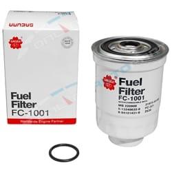 Diesel Fuel Filter Triton MK 1996-2006 2.8L 4cyl 4M40 4M40T 2835cc Mitsubishi Ute - Sakura | FC1001