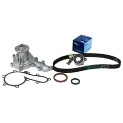 Gates Timing Belt + Water Pump Kit suits Toyota Landcruiser 1HZ HZJ75 HZJ80 With Tensioner