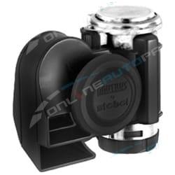 24 volt Stebel Nautilus Compact Truck Car Air Horn 139dB Loud Black Bus Electric